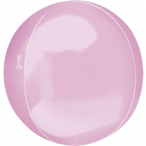 Pastel Pink Orbz Balloons - Orbz Balloons Wholesale